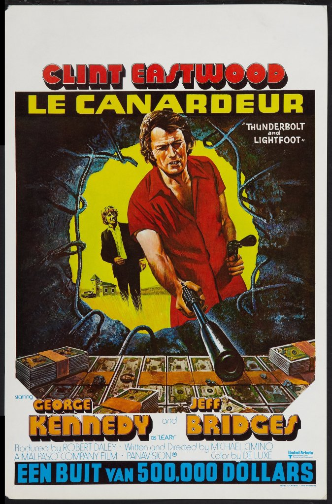 Thunderbolt and Lightfoot french poster