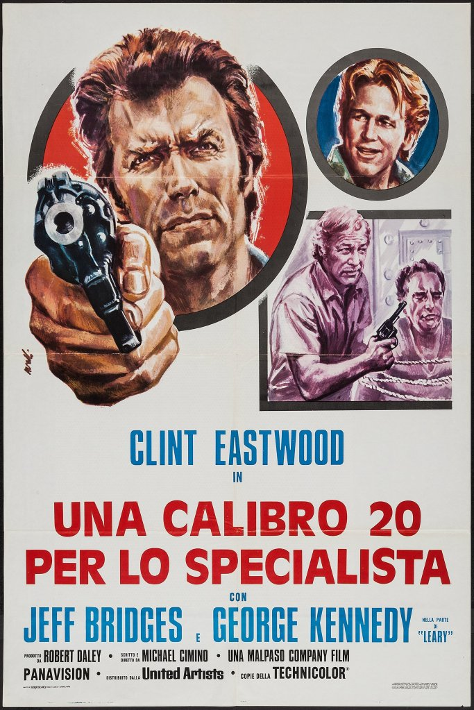 Thunderbolt and Lightfoot italian poster
