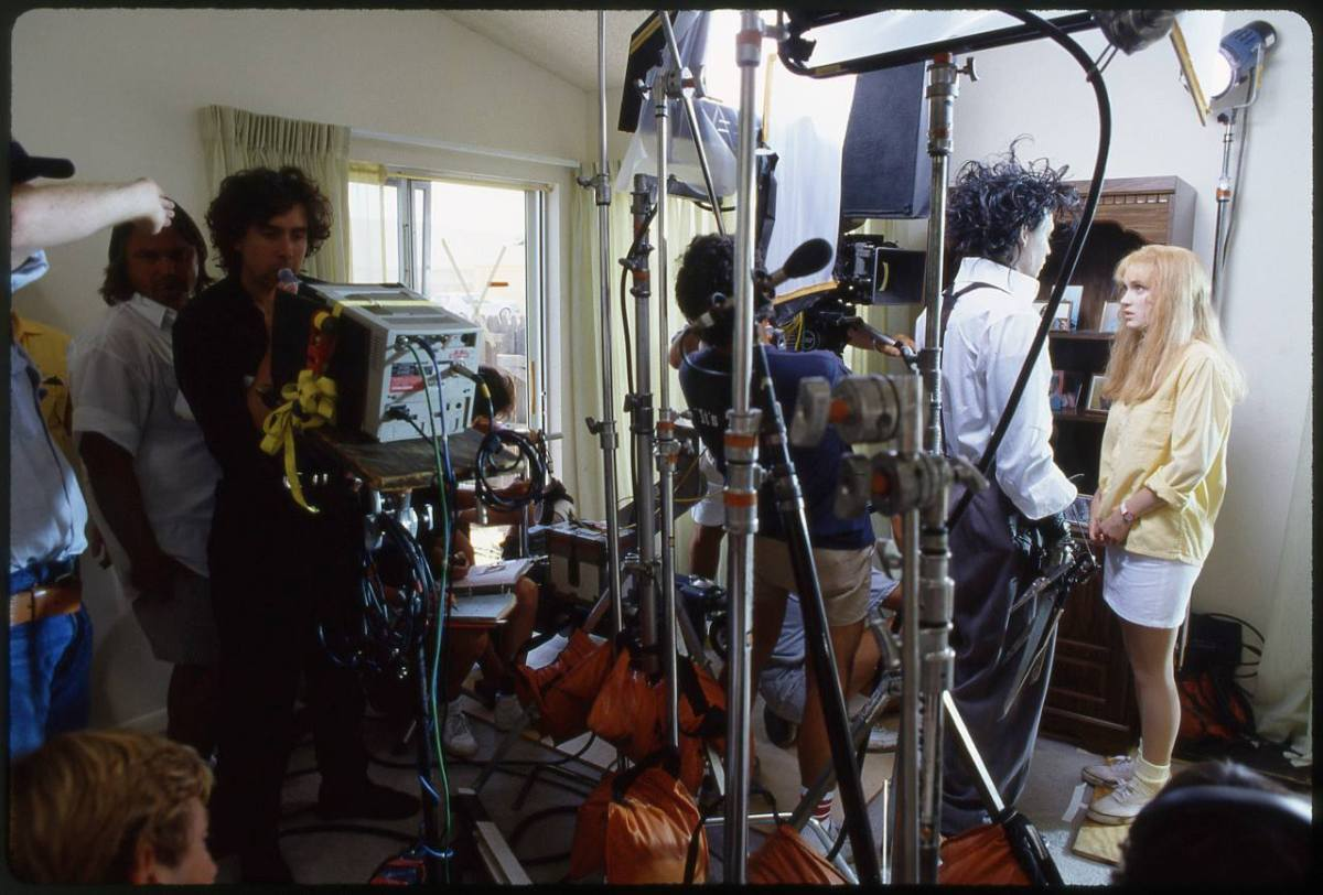 Behind the scenes of the making of Tim Burton's Edward Scissorhands