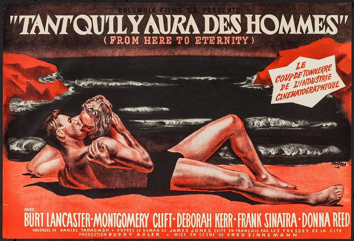 From Here to Eternity french poster