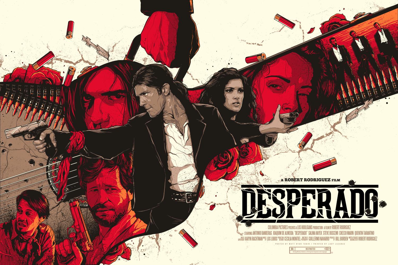 Desperado Poster By Matt Ryan Deep Fried Movies