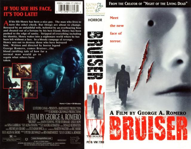 Bruiser VHS release