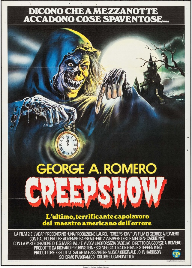 Creepshow Italian poster