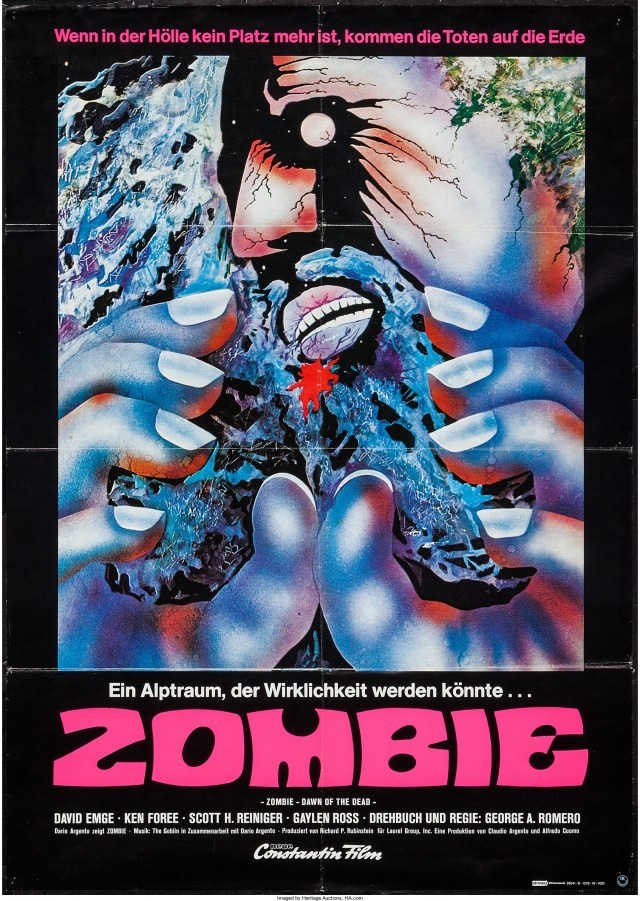 Dawn of the Dead German poster