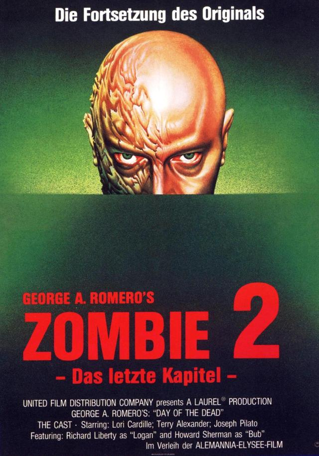 Day of the Dead German poster