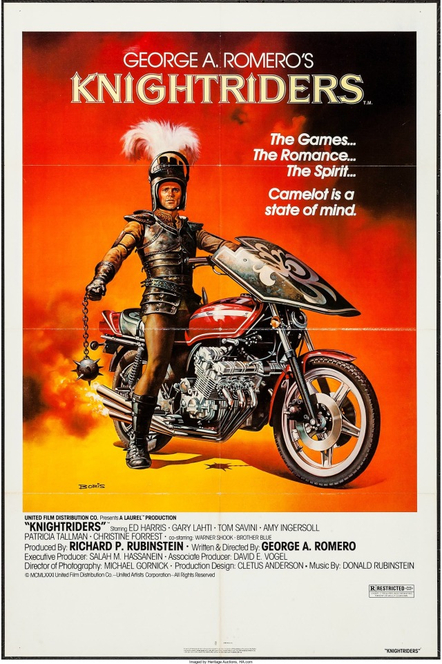 Knightriders poster by Boris Vallejo