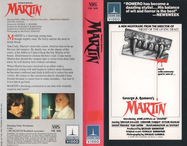 Martin Thorn EMI VHS