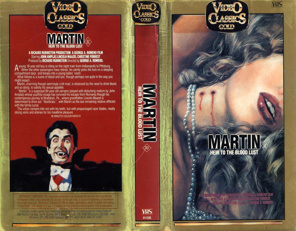 Martin Video Classics VHS release