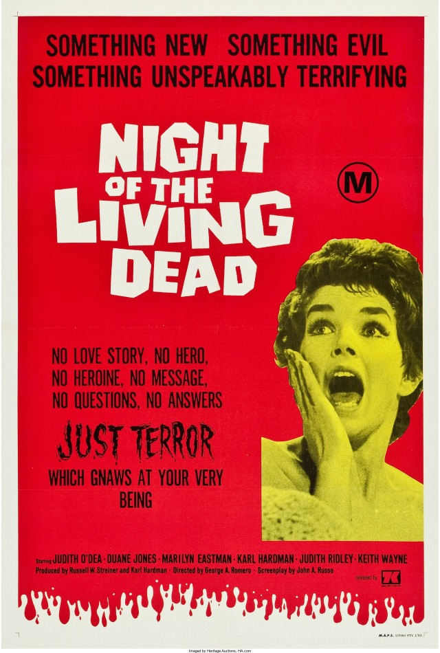 Night of the Living Dead Australian poster