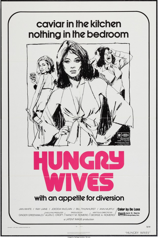 Season of the Witch (aka Hungry Wives) poster by Robert Tanenbaum
