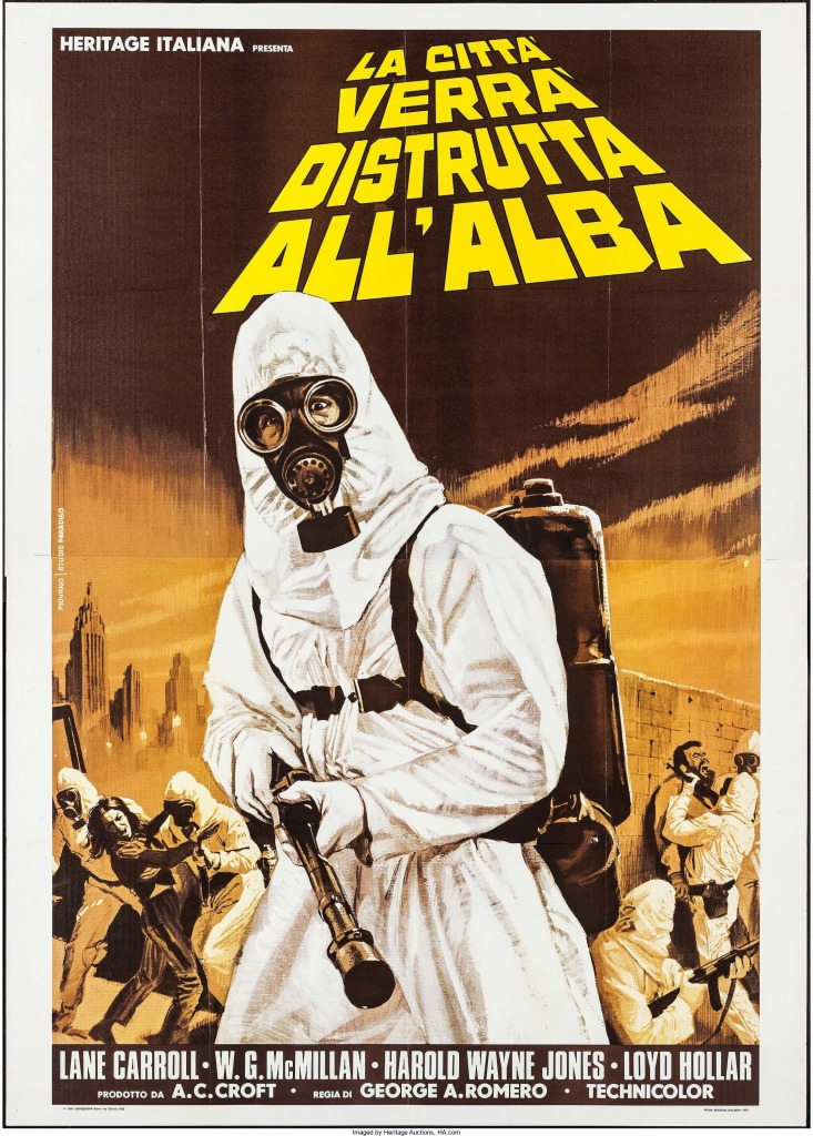 The Crazies Italian poster