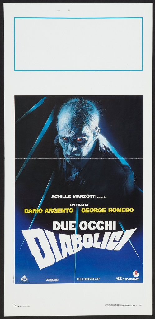 Two Evil Eyes Italian poster by Enzo Sciotti