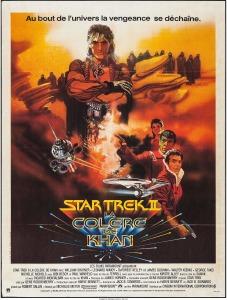 Star Trek II The Wrath of Kahn french poster by Bob Peak