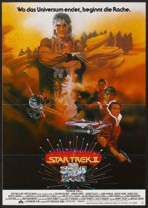 Star Trek II The Wrath of Kahn german poster by Bob Peak