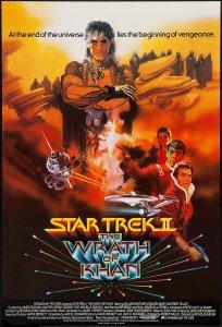 Star Trek II The Wrath of Kahn poster by Bob Peak