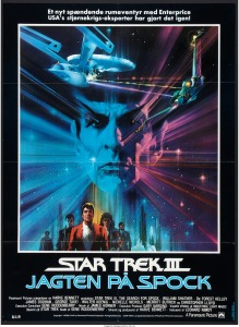 Star Trek III The Search for Spock danish poster by Bob Peak