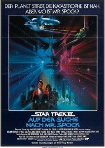 Star Trek III The Search for Spock german poster by Bob Peak