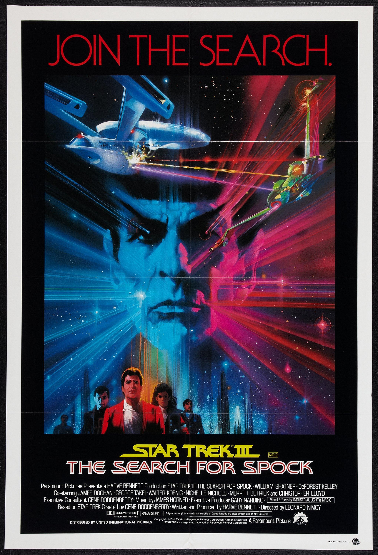 1984 STAR TREK III Search for Spock Movie Poster Magazine ...