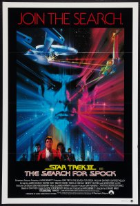 Star Trek III The Search for Spock poster by Bob Peak #2
