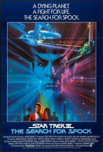 Star Trek III The Search for Spock poster by Bob Peak