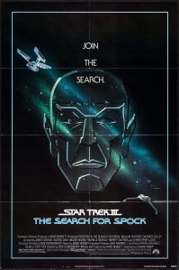 Star Trek III The Search for Spock poster by Gerald Huerta