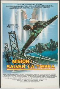 Star Trek IV The Voyage Home argentinian poster