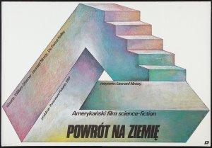 Star Trek IV The Voyage Home polish poster by Wieslaw Walkuski