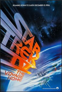 Star Trek IV The Voyage Home poster by Bob Peak #2