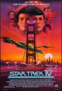 Star Trek IV The Voyage Home poster by Bob Peak