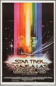 Star Trek The Motion Picture argentinian poster by bob peak