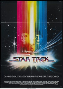 Star Trek The Motion Picture german poster by Bob Peak