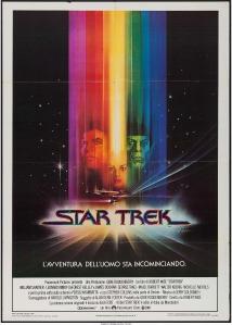 Star Trek The Motion Picture italian poster by bob peak