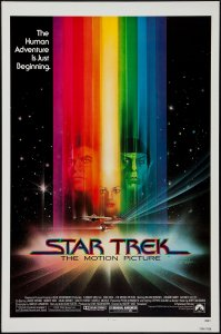Star Trek The Motion Picture poster by Bob Peak