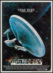 Star Trek The Motion Picture poster by John Berkey
