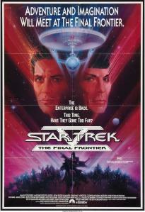 Star Trek V The Final Frontier australian daybill poster by bob peak
