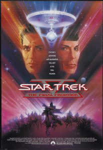 Star Trek V The Final Frontier poster by Bob Peak