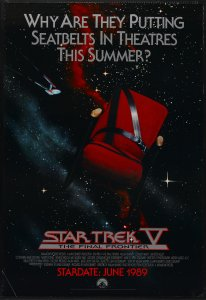Star Trek V The Final Frontier poster