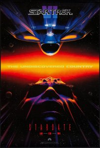 Star Trek VI The Undiscovered Country poster by John Alvin #2