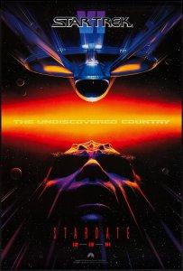 Star Trek VI The Undiscovered Country poster by John Alvin #2