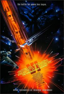Star Trek VI The Undiscovered Country poster by John Alvin