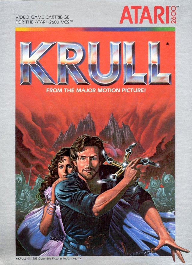Krull video game Atari 2600