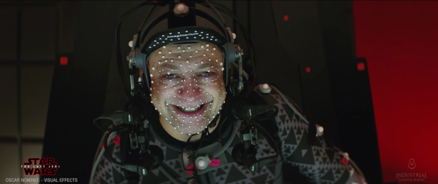 Andy Serkis behind the scenes of Star Wars The Last Jedi #6