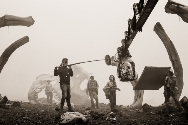Behind the Scenes Kong Skull Island Brie Larson photo by chuck zlotnick
