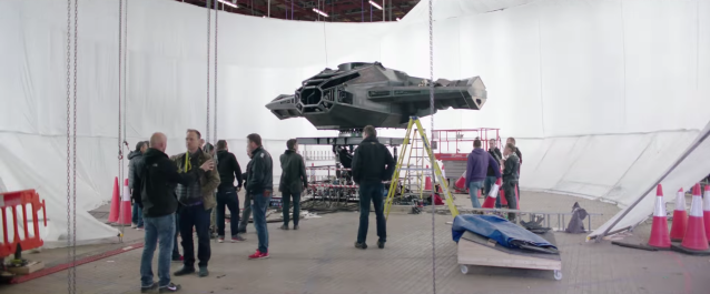 Behind the scenes of Star Wars The Last Jedi #13