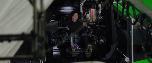 Behind the scenes of Star Wars The Last Jedi #14