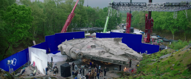 Behind the scenes of Star Wars The Last Jedi #17