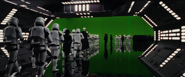 Behind the scenes of Star Wars The Last Jedi #7