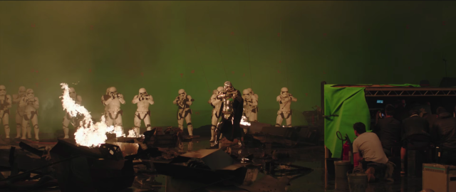Behind the scenes of Star Wars The Last Jedi #8