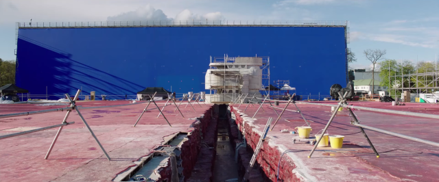 Behind the scenes of Star Wars The Last Jedi planet Crait