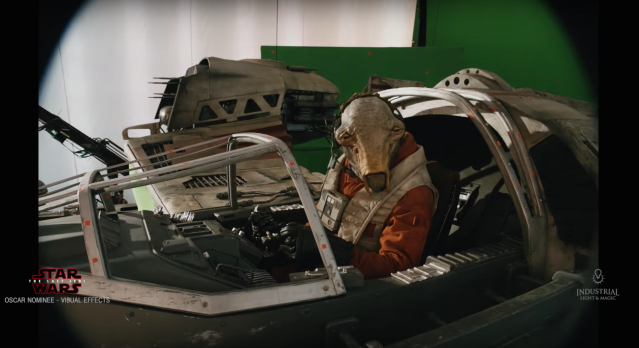 Behind the Scenes of The Last Jedi soundstage